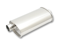 Mirror Polished Stainless Steel Universal Mufflers